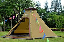 印第安5人營-搭建教學