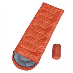 【租用】信封型帶帽睡袋  (適合15-25溫度)